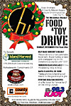 The 3rd Annual Island Harvest Food Drive hosted at Chi Dining Lounge
